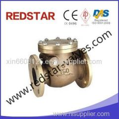 bronze swing check valve Nickel Aluminum Bronze Swing Check Valve