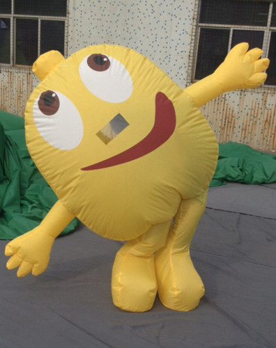 Lovely Attractive Inflatable Moving Cartoon Model for Advertising