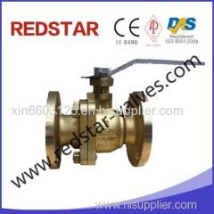 Nickel Aluminum Bronze Floating Ball Valve