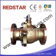 Nickel Aluminum Bronze 2PC Floating Ball Valve