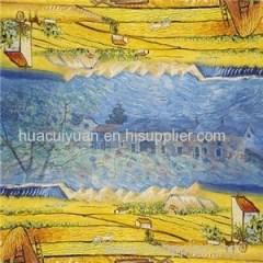 Digital Print Silk Scarf Maker China