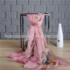 Customized Chiffon Scarf Factory