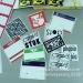 Custom One Color Printing Destructible Vinyl Sticker Label Tamper Evident Security Adhesive Vinyl Eggshell Sticker