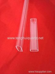 Quartz Square tube Shaped tube