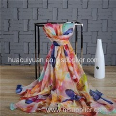Custom Chiffon Shawl China Supplier