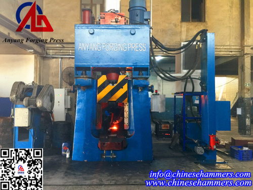 CNC Fully Hydraulic Closed Die Forging Hammer
