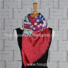 Custom Made Silk Cashmere Scarf
