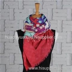 Custom Made Silk Cashmere Scarf