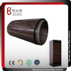 Wooden grain PVC film laminated metal sheet for wine cabinet