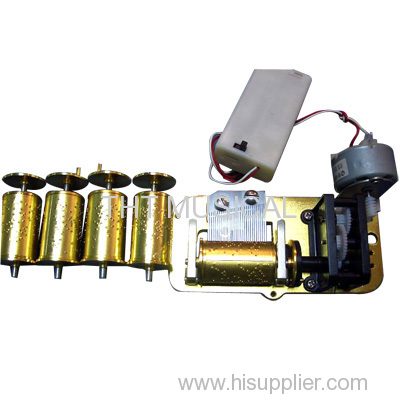 Interchangeable Cylinder Electric Drive Mechanical Musical Instrument