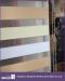 Three color zebra blinds rainbow roller blind for office