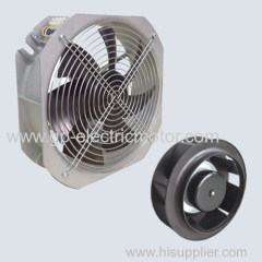 High speed solar out door greenhouse cooling axial fan