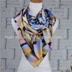 Design Custom Silk Twill Scarf