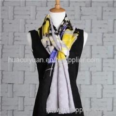 Custom Design Silk Wool Scarf