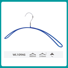 Cheap PVC Coated wire metal clothes hanger