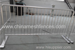 concert used crowd control barrier galvanized crowd control barricade wholesale crowd control barrier
