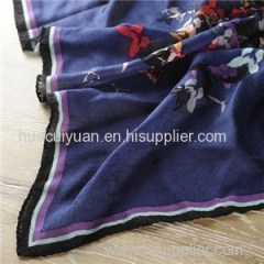 Wool Square Scarf 90*90cm