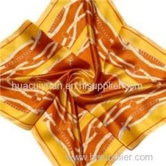 Custom Silk Satin Scarf