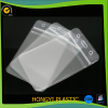 Clear Transparent PVC Standard Business ID Badge Card Holder