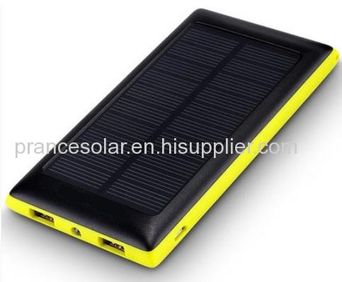 100% real capacity solar charger power bank 10000mAh