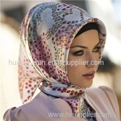 Custom Digital Print Silk Hijab China