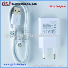 Wholesale for cell phone travel charger High Quality USB Cable+EU plug Wall charger