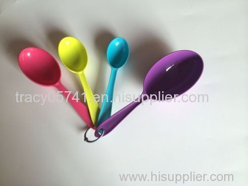 Plastic spoon set sald