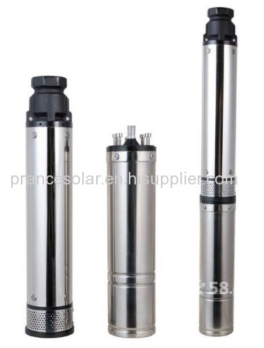 Brushless solar submersible pump