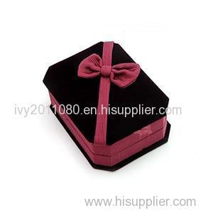 Velvet Earring Jewelry Box