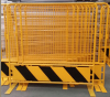 Powder-coating Removable Crowd Control Road Barrier