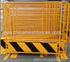 Poedercoating Verwisselbare Crowd Control Road Barrier