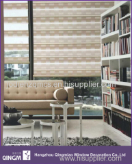 New Design Square Pattern Zebra Blind Custom For Chinese Market