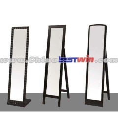 Square Floor Mirror Wirh Support