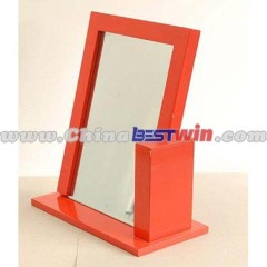 Wooden Desktop Cosmetic Mirror