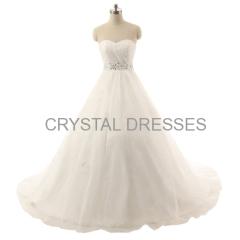 ALBIZIA New Style 2015 Floor Length A-Line Wedding dress