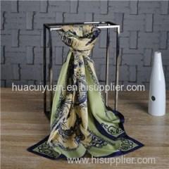 Customized Design Gift Silk Scarf