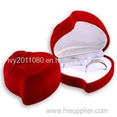 Romance Heart-shaped Ring Box