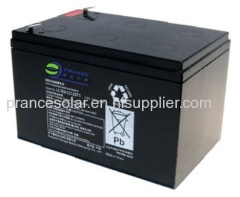 Deep cycle VRLA Solar battery 12V 12Ah