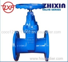 Ductile Iron BS5163 Resilient seated Gate Valve Light Type