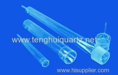 High temperature resistant quartz diffusion tube