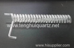 Quartz spiral tube Water treatment