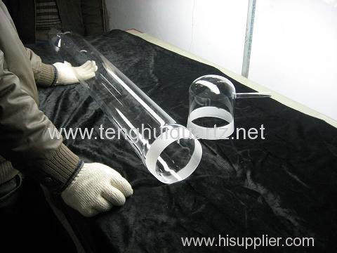 High temperature resistant quartz furnace tube