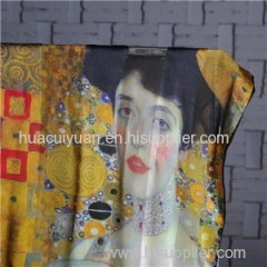 Custom Design Silk Scarf