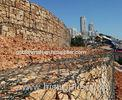Hot Dipped Low Carbon Gabion Boxes For Lake Shore Protection