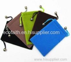 Velvet drawstring bag velvet bag