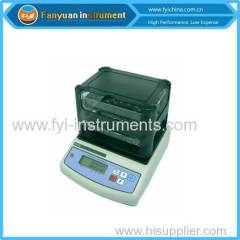 rubber and plastic manual densimeter