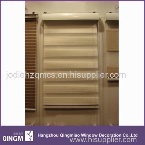 New Finished Good Quality Curtain Fabric Folded Zebra Blind