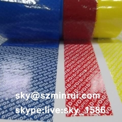 Fast Delivery Customized Color Void Tapes Void Sticker Material for Tamper Evident