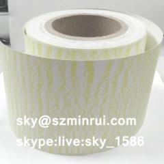 Unique Water Wave Ultra Destructible Vinyl Materials for Tamper Evident