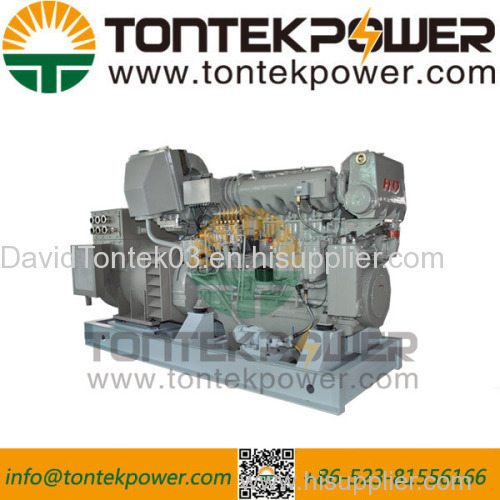 12Cylinder 400kW Marine Diesel Genset with HND-MWM Engine